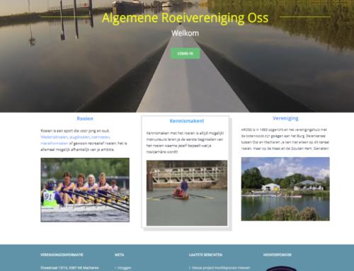 """Uitzwaaien """"oude layout"""" : nieuw fris uiterlijk website"""
